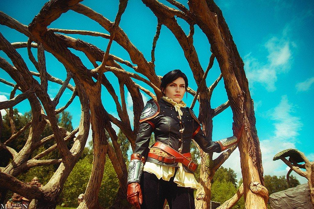 Косплей дня: Сианна измира «Тысячи Сказок» в«Ведьмаке3»