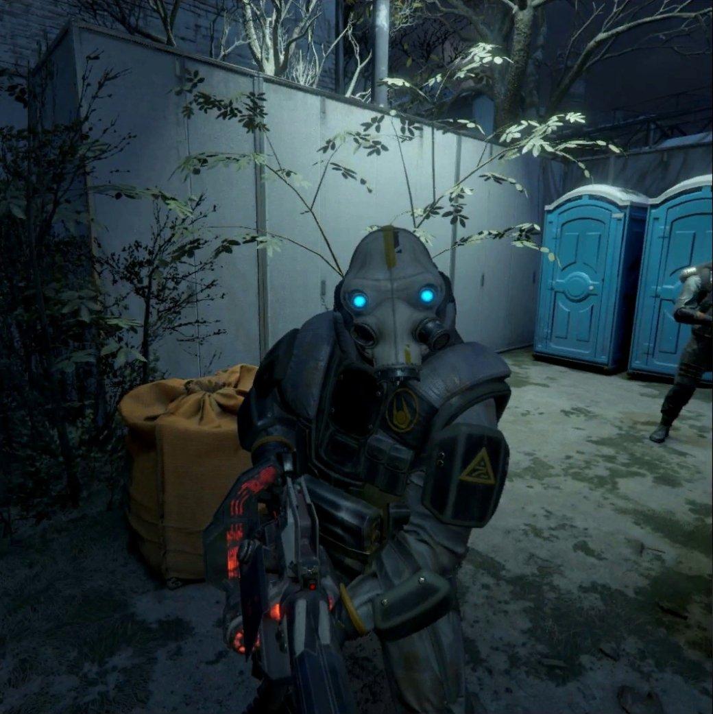 В интернете появились новые скриншоты Half-Life: Alyx