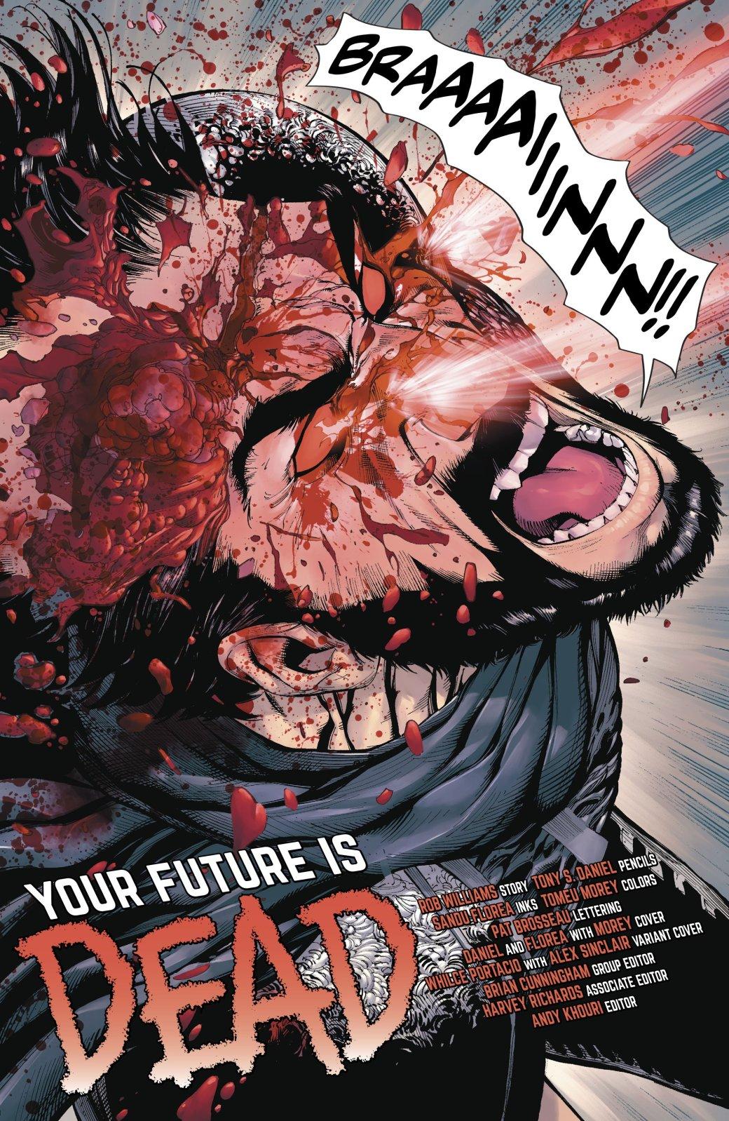Харли Квин трахается сРиком Флэгом, пока генерал Зод режет себе череп