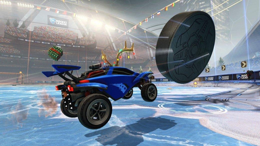 День снега в Rocket League: хоккей на льду и праздничные предметы