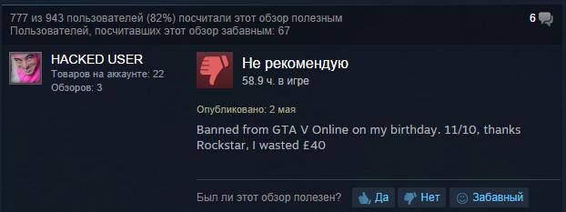 Rockstar запретила моды в GTA V