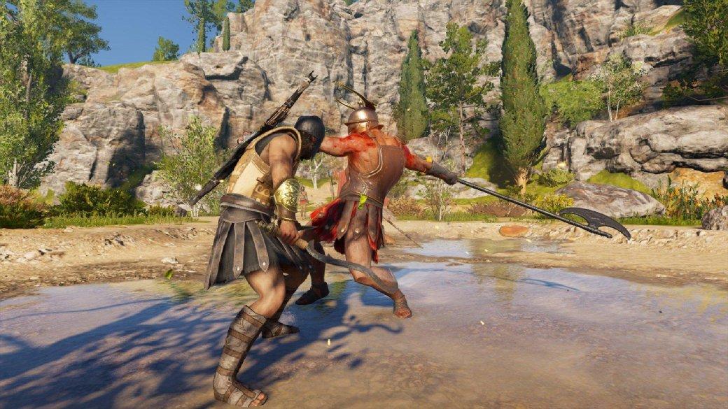 Гифка дня: трудности паркура вAssassin's Creed Odyssey