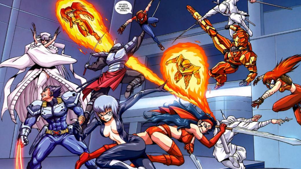 Японское безумие: как Marvel делала мангу ианиме сЧеловеком-пауком, Блэйдом идругими
