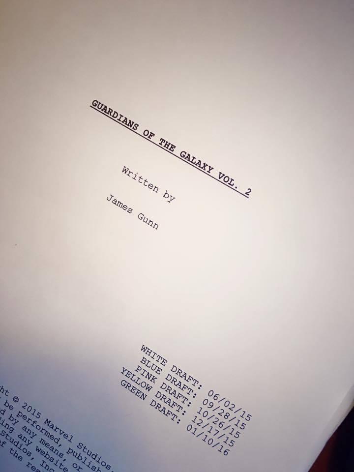 Сценарий «Стражей Галактики 2» закончен: Вин Дизель, проверь почту!