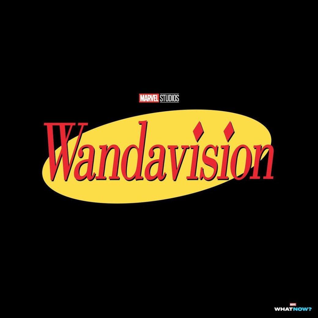 От«Друзей» до«Вовсе тяжкие»: художник показал лого «ВандаВижн» встиле других сериалов