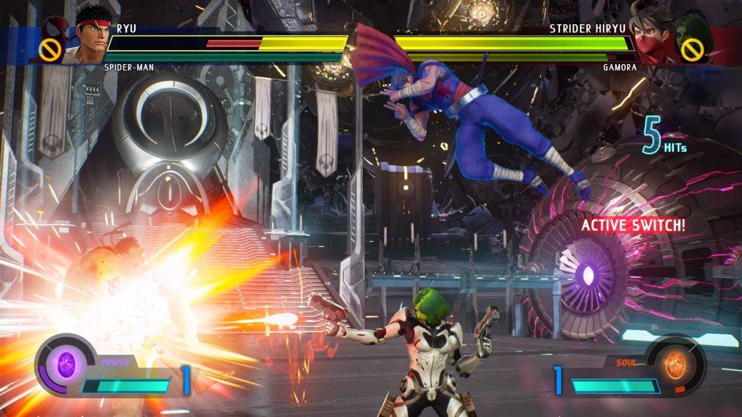 Рецензия на Marvel vs. Capcom: Infinite