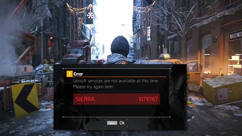 Сервера The Division не выдержали наплыва игроков