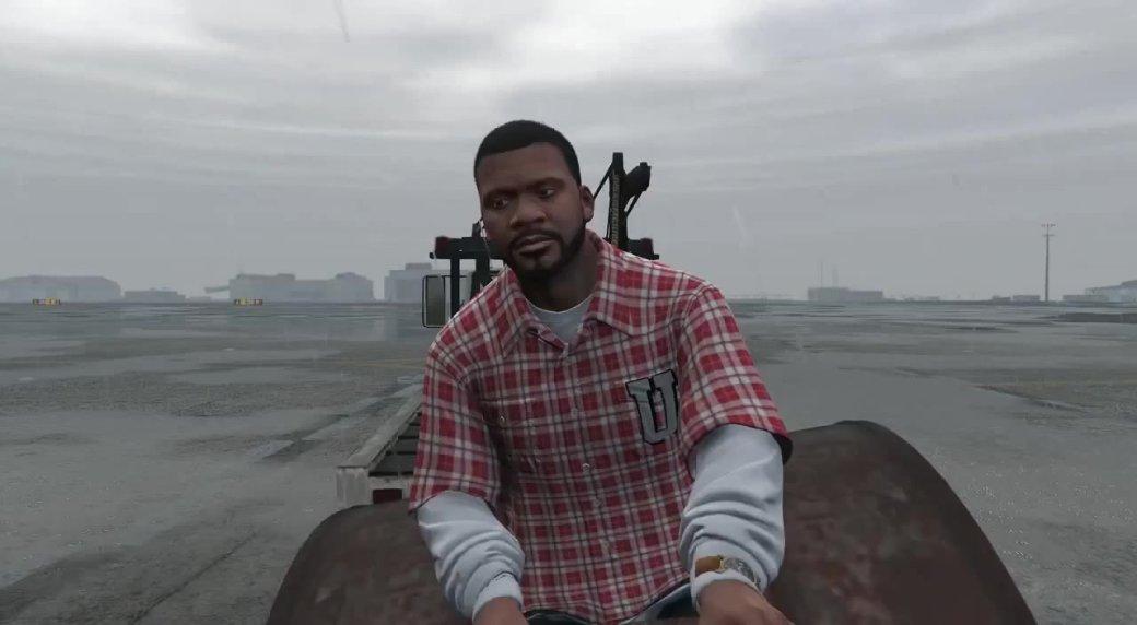 Гифка дня: когда проблемы реальной жизни неисчезают даже вGrand Theft Auto5