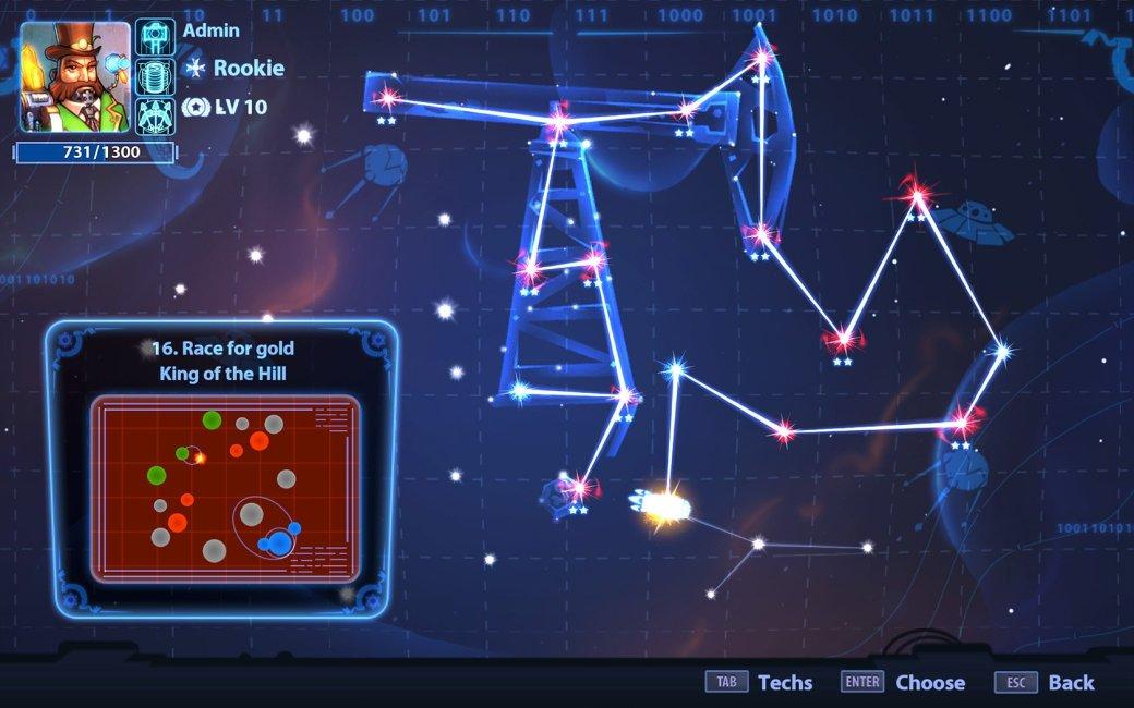 Рецензия на Planets Under Attack