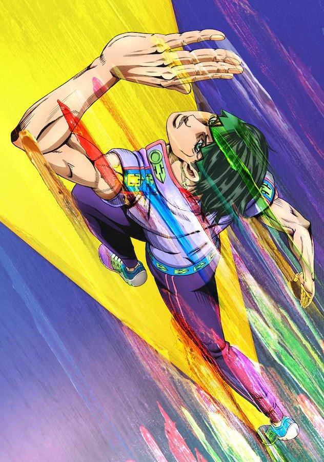 OVA-эпизоды спин-оффа аниме «Невероятные приключения ДжоДжо» получили новый постер