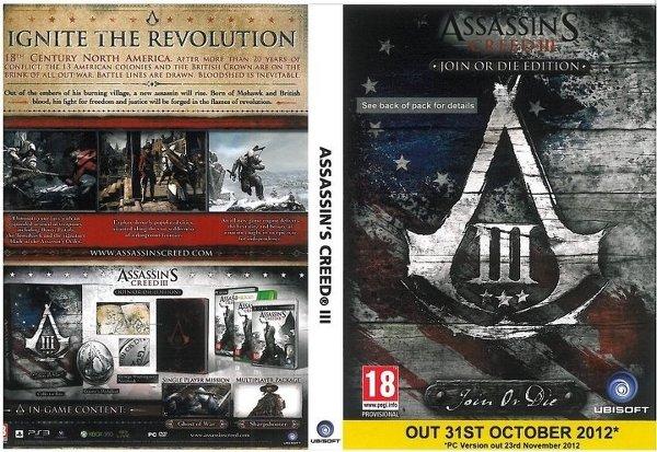 Ubisoft отложила PC-версию Assassin's Creed III