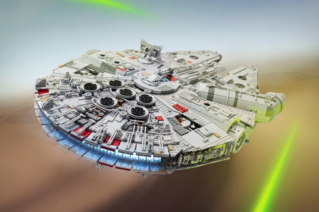 Фанат Star Wars построил идеальную модель «Сокола тысячелетия»