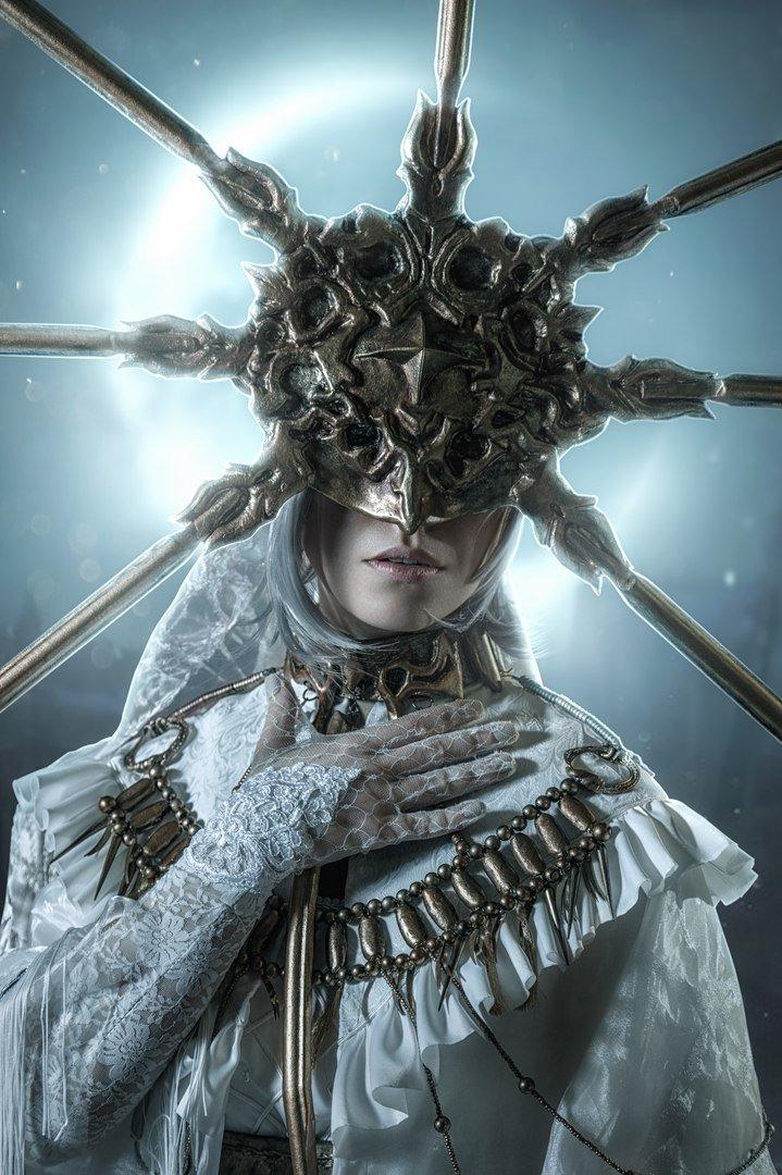 Косплей дня: Гвиндолин Темное Солнце из Dark Souls