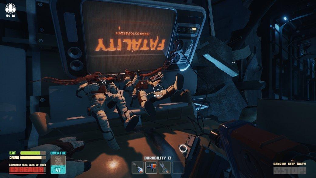 В Steam вышла Breathedge – юморная игра про космический катафалк и синюю изоленту
