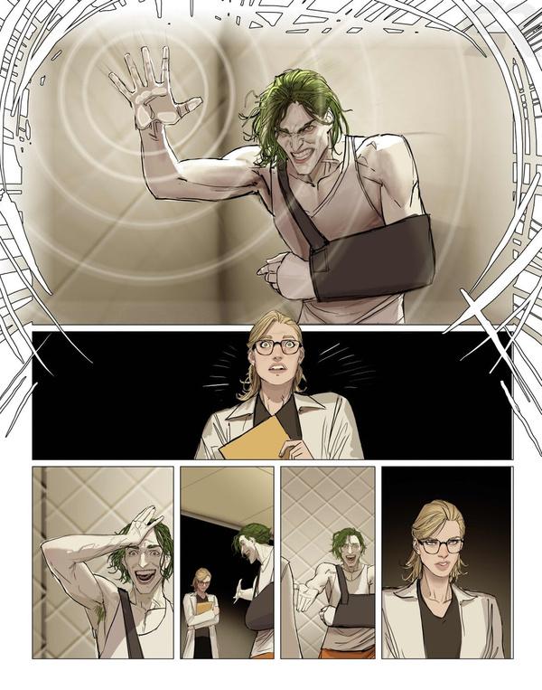 Вновом комиксе Харли Квинн попробует излечить Готэм отбезумия