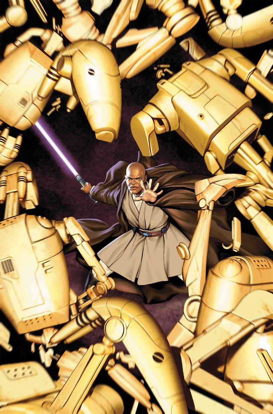 Marvel развивает вселенную Star Wars: новый комикс о Мейсе Винду