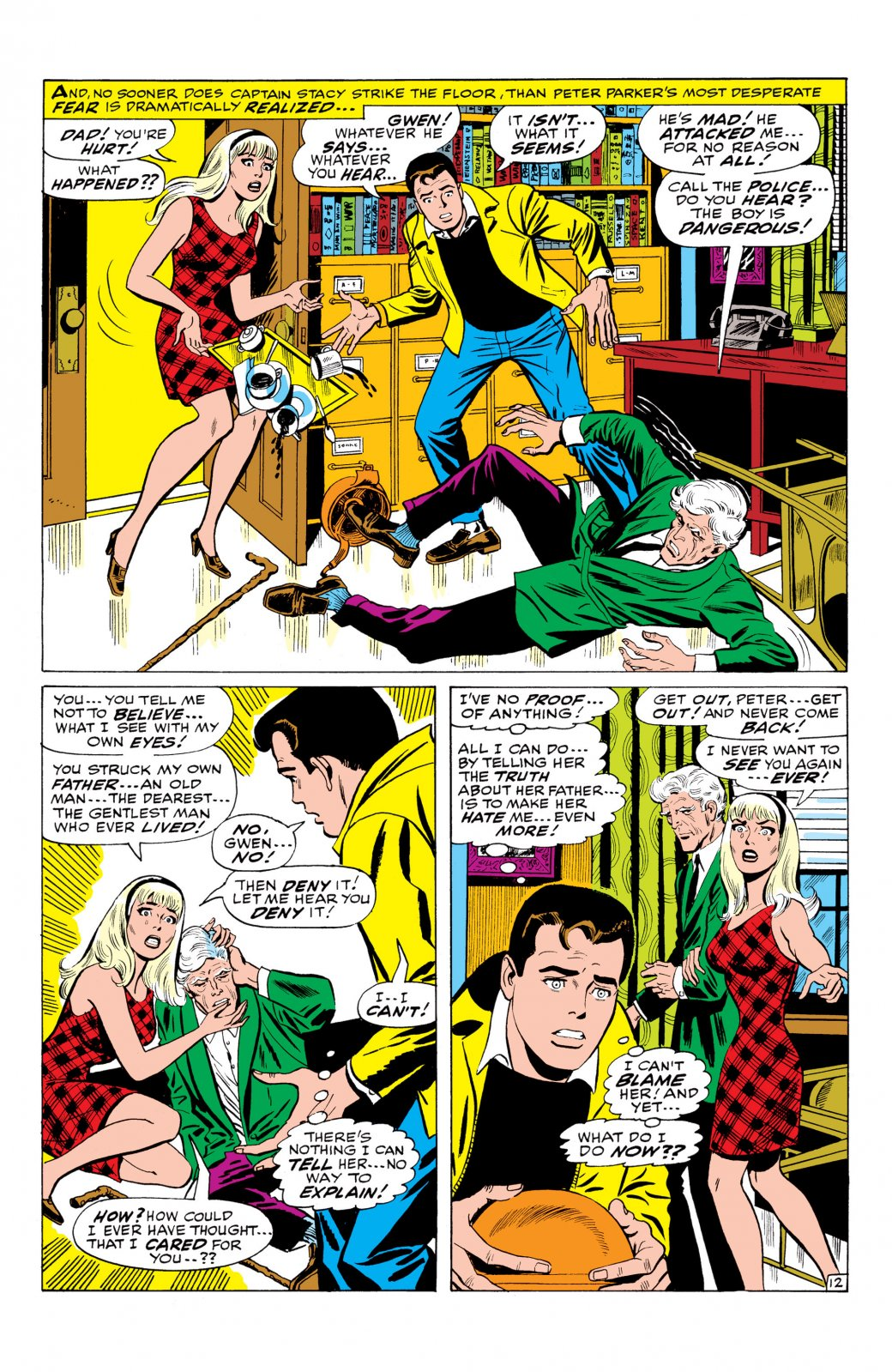 Возлюбленная Человека-паука, укоторой было много клонов. Эволюция Гвен Стейси вкомиксах