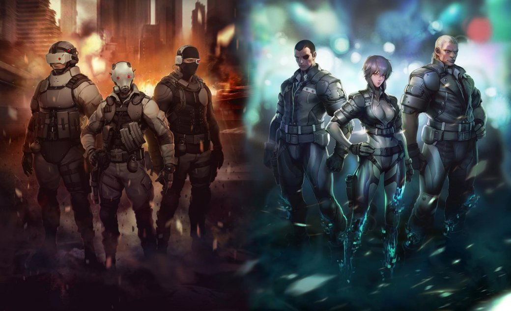 По мотивам Ghost in the Shell: Stand Alone Complex создают MMOFPS