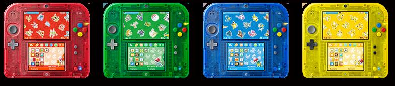 20 лет Pokémon: юбилейные New 3DS и 2DS, переиздание оригинальных игр