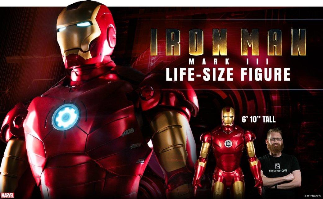 Sideshow выпустит статую Железного человека в полный рост (!!!)