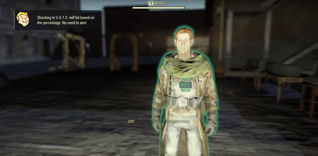 Геймеры нашли в Fallout 76 первого NPC-человека в «комнате» для разработчиков