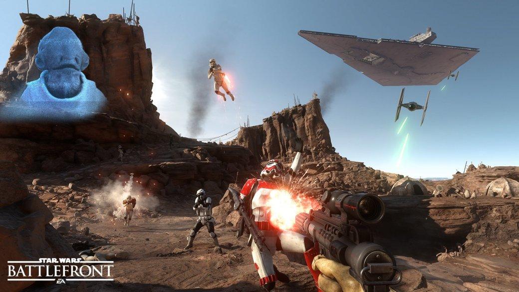 Бета Star Wars Battlefront будет открытой, с онлайном и оффлайном
