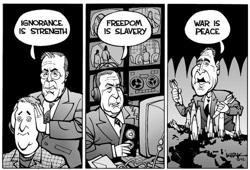 Ода абсолютной власти: Джордж Оруэлл, «1984»