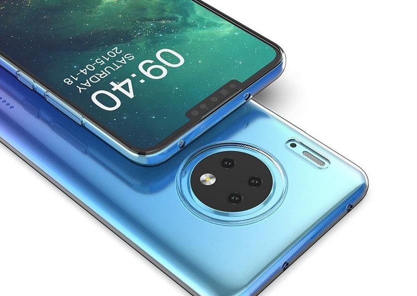Опубликованы первые снимки Huawei Mate30: странный гибрид Nokia иiPhone